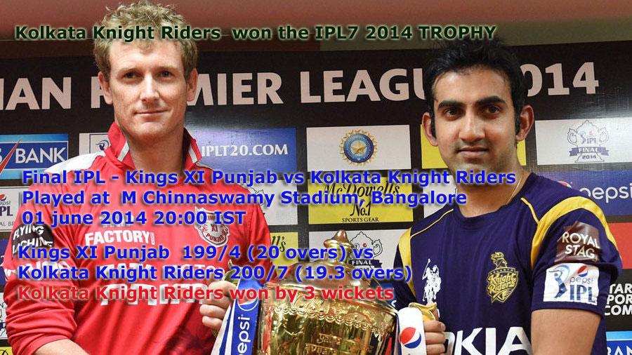 IPL Winners And Runners-up Teams
